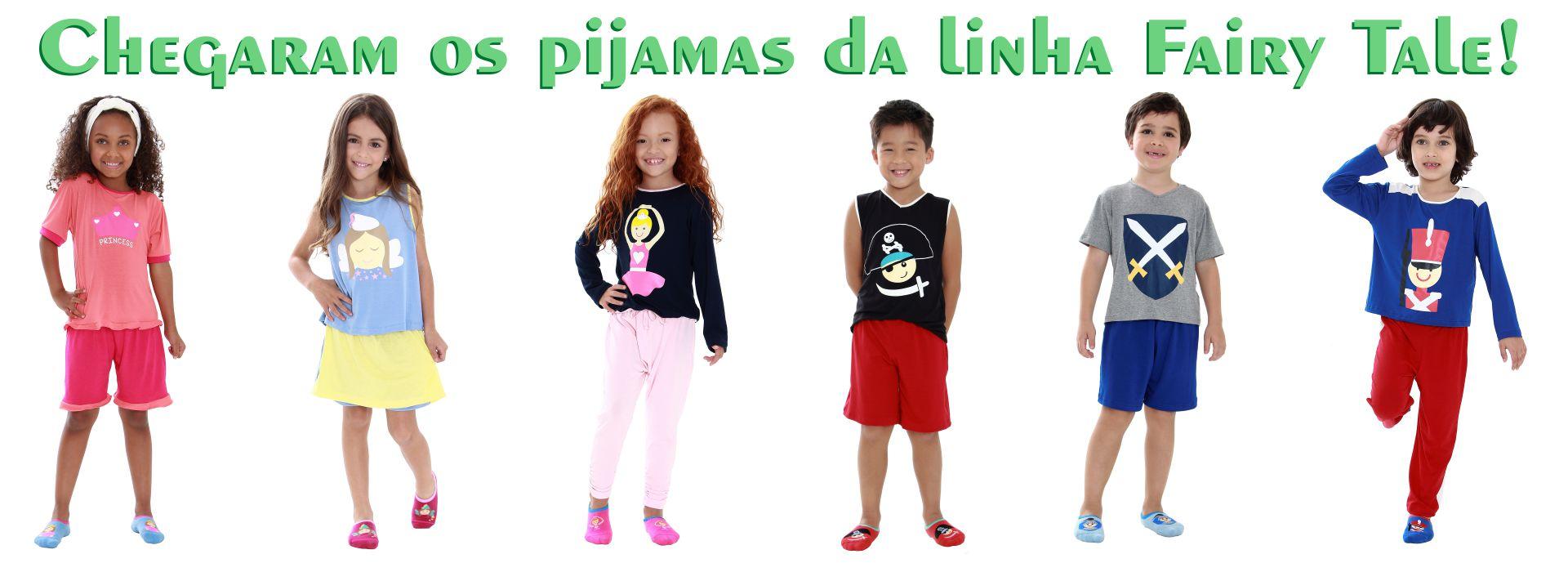 pijama colorido